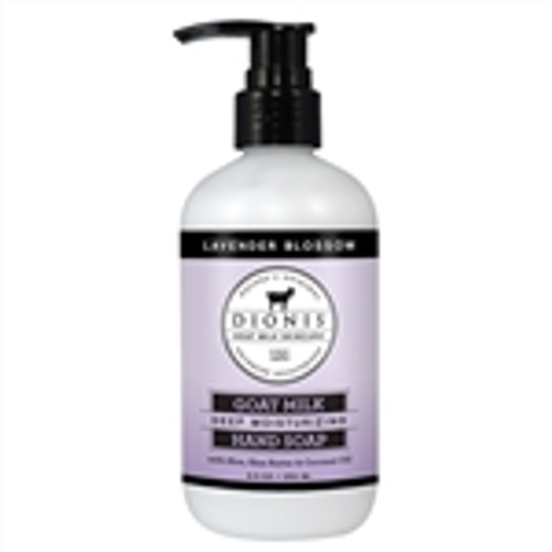 Our hand soap is a rich and creamy concentrated formula that is sulfate free and highly moisturizing because we blend our natural Goat milk with Aloe Vera, Shea Butter and Coconut Oil. This hand soap will not only clean your hands, but it will leave you feeling silky smooth and moisturized.   Our 8.5 oz. Hand Soap comes with a pump.   Paraben Free Sulfate Free Cruelty Free Made in the USA