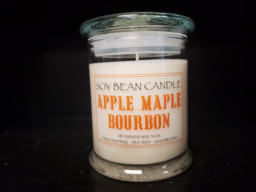 This different take on an apple based fragrance is a mouthwatering scent that starts with top notes of apple, cinnamon and a hint of orange.  Bourbon and butter are the heart of this fragrance, while rich, sweet maple and vanilla finish of this irresistible baked apple dessert.
