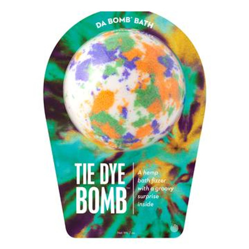Watch carefully as this hemp fizzer dissolves, because there's a fun surprise inside. Perfect for adults and kids alike. (Everyone loves surprises.) Use one bomb per bath. Your bath bomb will arrive in our signature packaging, as shown.  Warning: Small parts. Not for children under 3.