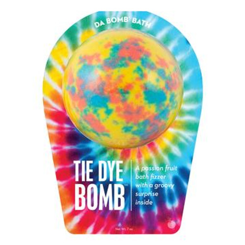 Watch carefully as this passion fruit fizzer dissolves, because there's a fun surprise inside. Perfect for adults and kids alike. (Everyone loves surprises.) Use one bomb per bath. Your bath bomb will arrive in our signature packaging, as shown.  Warning: Small parts. Not for children under 3.