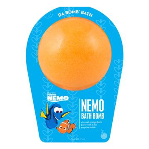 Watch carefully as this sweet orange fizzer dissolves because there is a fun surprise inside. Perfect for adults and kids alike. (Everyone loves surprises.) Use one bomb per bath. Your bath bomb will arrive in our signature packaging, as shown.  Warning: Small parts. Not for children under 3.