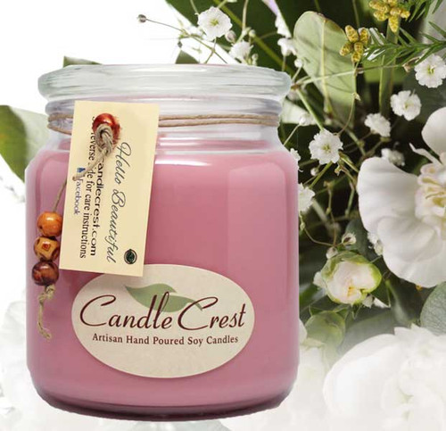 A shimmering blend of delicate florals such as gardenia, jasmine & magnolia brightened by fresh greens. Light nectarine blends perfectly with notes of warm woods as it unfolds to reveal creamed musk and golden amber. A light yet beautiful must have fragrance!