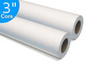 """Wide Format Papers Engineering Bond Taped 3"""" Core, 20 lb, 34 x 500, 2 Rolls"""