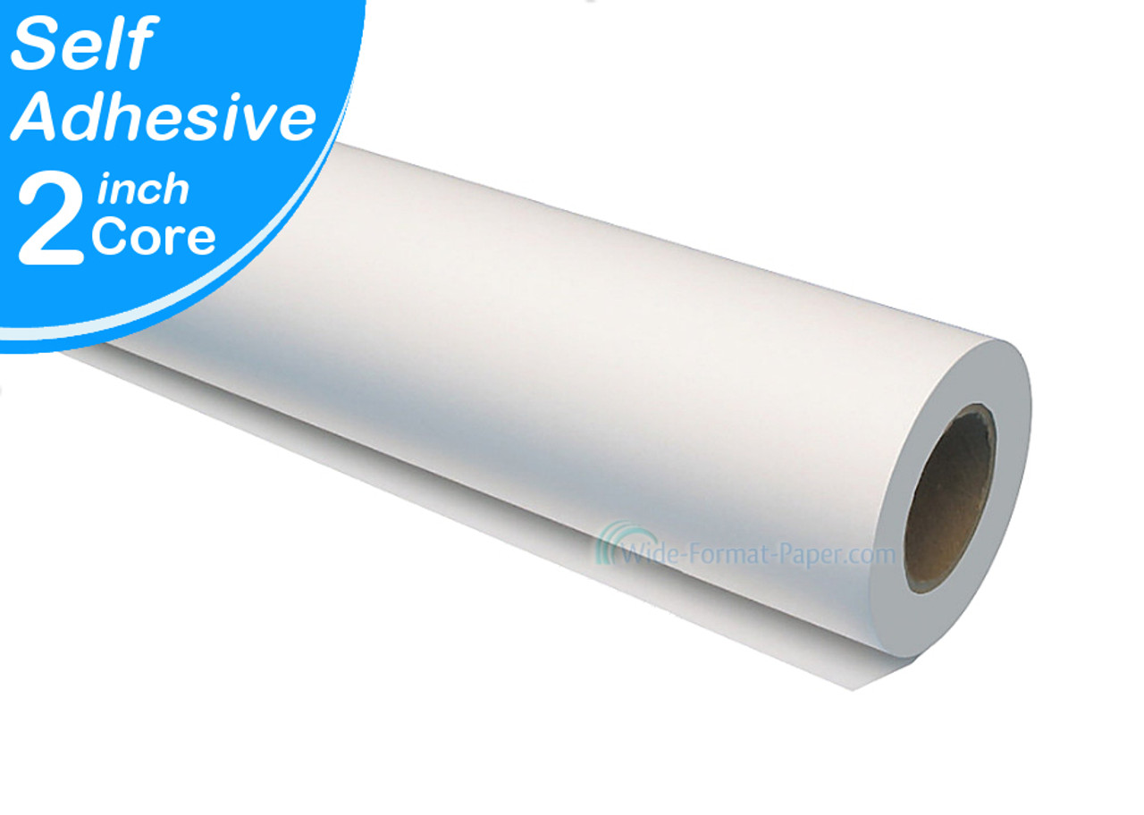 Vinyl Self Adhesive Printing Roll Wide Format Paper Com Large Format Printing Products