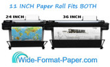 Large Engineering Inkjet / WideFormat Printing Paper Rolls