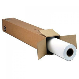 "24"" Wide Satin Photo Paper 7.9 mil x100', Q8920A for HP Designjet printers and Canon, Epson, 2"" core Oce printer paper and more"