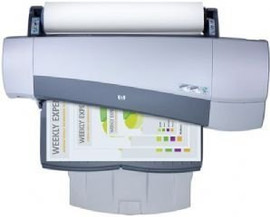 "24"" Wide Format Printing Paper Bond, Translucent, Vellum and More in this machine. Handles 17lb - 56lb wide format media"