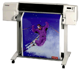 """Wide-Format Printing Paper, Copy using Roll 36"""" Paper Printer Large-Format Designjet HP 2800cp"""