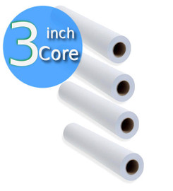 "20lb. Basis weight for good economy and excellent handling characteristics.  24"" x 150' 4  rolls.  Blue image with great combination of density and speed for console and tabletop ammonia diazo machines. Imaging Side Out and comes standard on a 3"" core. This product is not a stocked item and is converted on a per order basis. This is due to the shelf life of the product and to help ensure the quality and longevity."