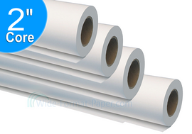 "Wide-Format Printer Paper Rolls, Vellum HP 500, Oce and Canon Inkjet 17 lb Rag Vellum Inkjet 24"" Paper Rolls Saver Carton (2-in Core x 4 Rolls of 150-ft ea. in One Box/Carton) 771245U"