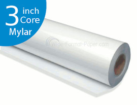 "DM Engineer's Printing Mylar Film, 4 mil, 30"" LARGE_FORMAT 300 foot of 3 Core Paper"