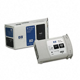 HP 80 - Ink Cartridge - Black  350ml