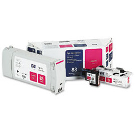 HP 83 - Magenta UV Value Pack, Cartridge, Printhead and Cleaner