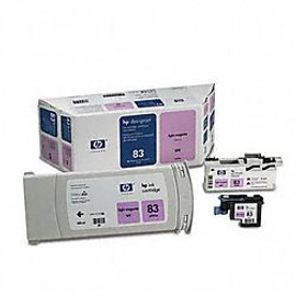 HP 83 - Light Magenta UV Value Pack, Cartridge, Printhead and Cleaner