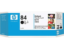 HP 84 - Ink Cartridge - Black - 3 Pak