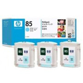HP 85 - Ink Cartridge - Light Cyan - 3 Pack