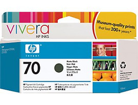 HP 70 - Ink Cartridge - Matte Black 130ml