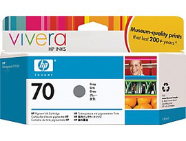 HP 70 - Ink Cartridge - Gray 130ml