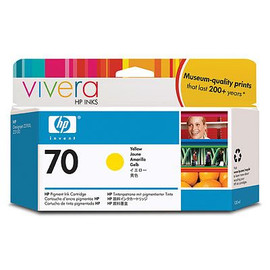 HP 70 - Ink Cartridge - Yellow 130ml
