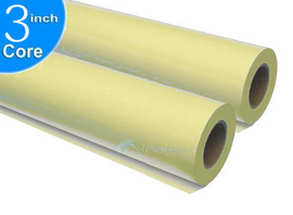Roll Wide Yellow Format Printing Paper 3 inch Core Universal to Xerox, Ricoh, Oce, Kip and more .....