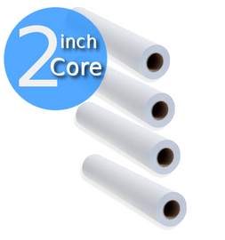 Roll for Oce Printer. 2 inch core; 4 rolls paper saver