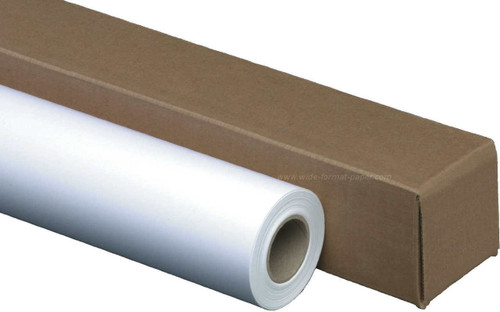"""Matte - Company Paper 24"""" Wide-Format, Heavy Weight Ink Jet Roll"""