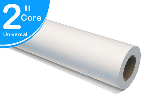 """Large-Format Printer Paper Rolls, Vellum HP, Oce and Canon Inkjet 42"""" x 150' 17 LB Vellum Roll Paper (2""""core) 771425 (Catalogue Only)"""