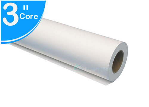 """Poster Paper, 36""""x 300' 3"""" Core Roll - 36(POUNDS) Printing Thick"""