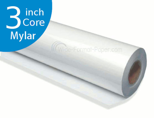 "DM Engineer's Printing Mylar Film, 4 mil, 36"" LARGE_FORMAT 300 foot of 3 Core Paper"