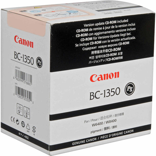 Canon Printers Product - Print Head BC-1350 (BC1350) (view)     Print Technology: Inkjet Wide-Format Papers IPF Canon imagePROGRAF W6400, Canon imagePROGRAF W8400