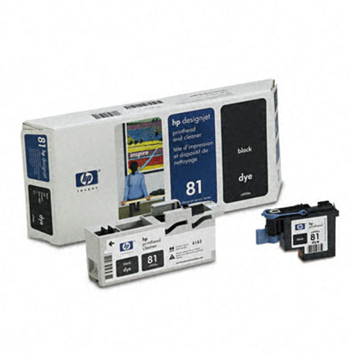 HP 81 - Black Dye Printhead/Cleaner