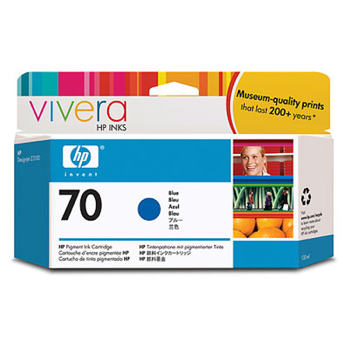 HP 70 - Ink Cartridge - Blue 130ml