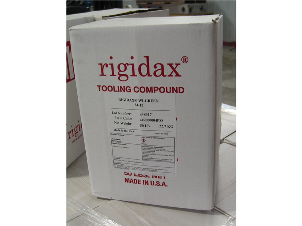 Rigidax Tooling & Fixturing Wax