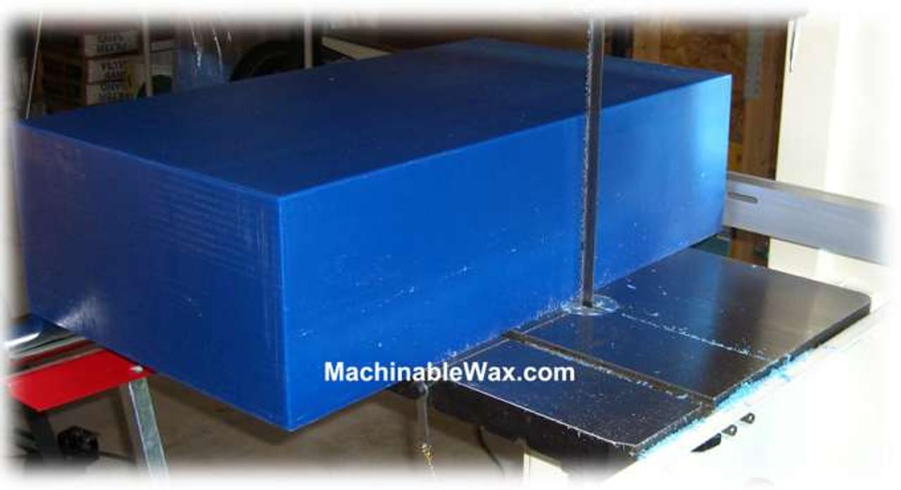 "Machinable Wax Blocks 8"" (203mm) Thick"