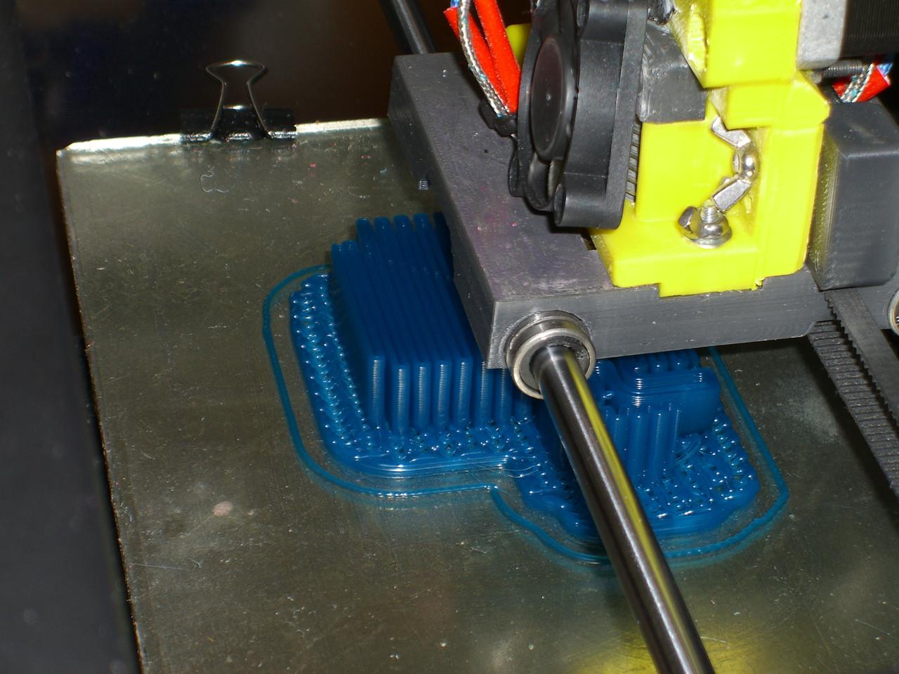 Wax Filament 3D Printing