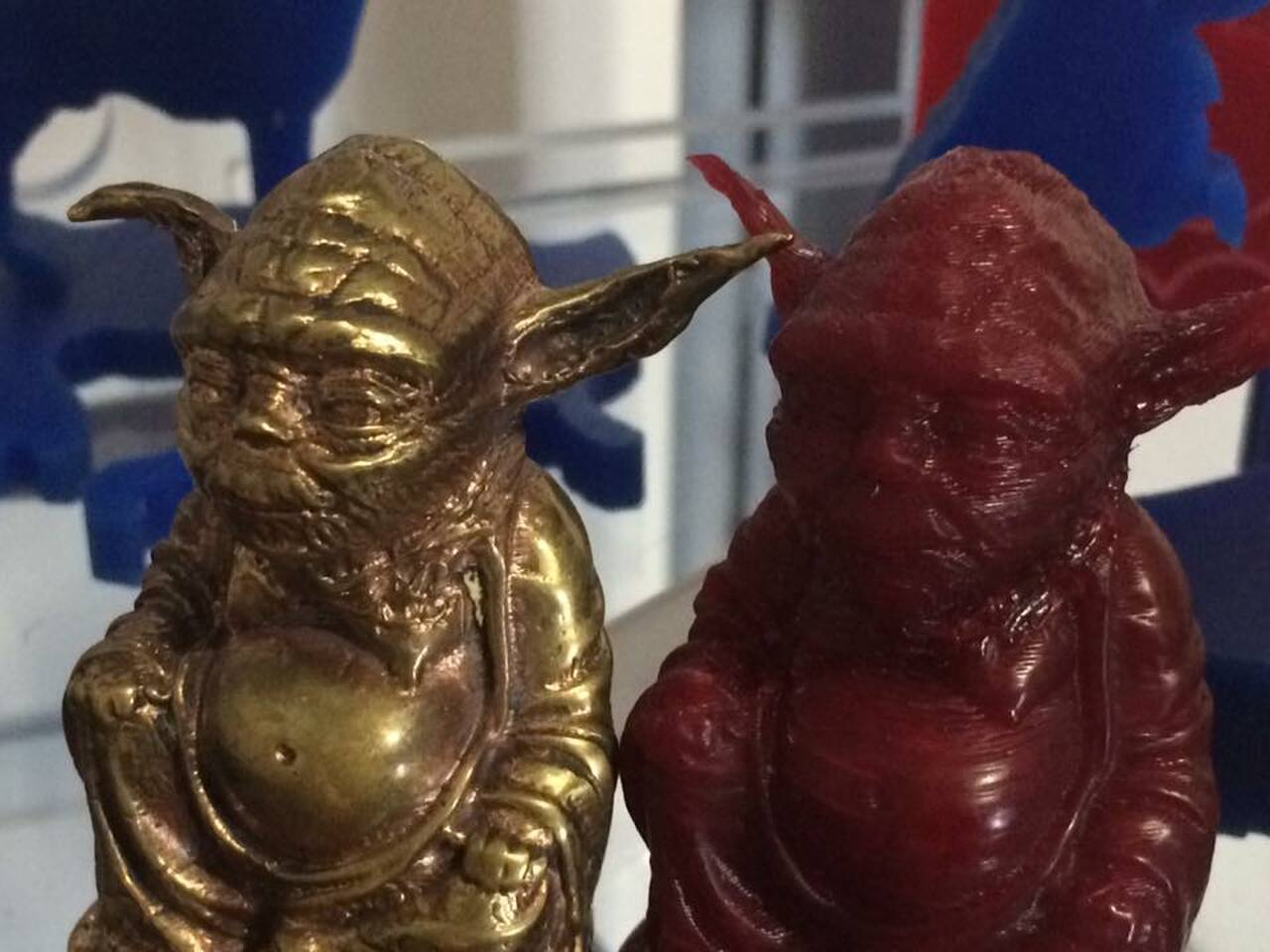 Brass Cast of a 3D Print