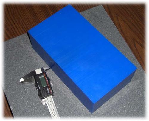 "Machinable Wax Blocks 4"" (102mm) Thick"