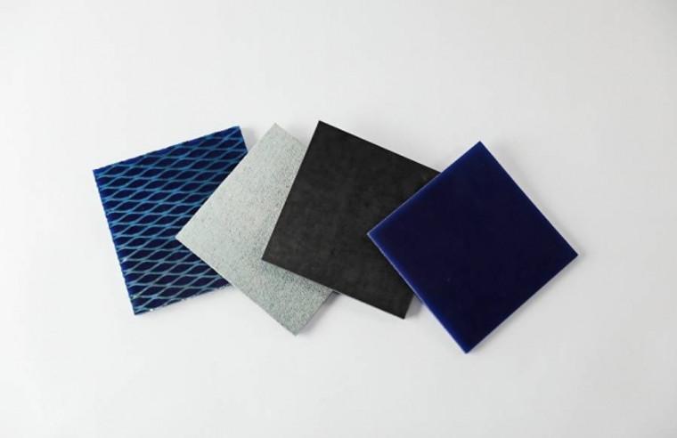 Rhino Hyde Blue, 4'x10' Sheets