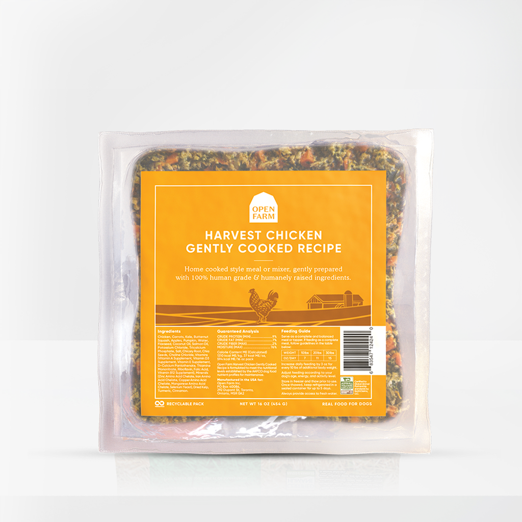 Open Farm Gently Cooked Harvest Chicken