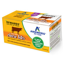 Answers Rewards Raw Cow Cheese – Organic Turmeric with Black Pepper