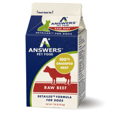 Answers Detailed Beef (Dog)