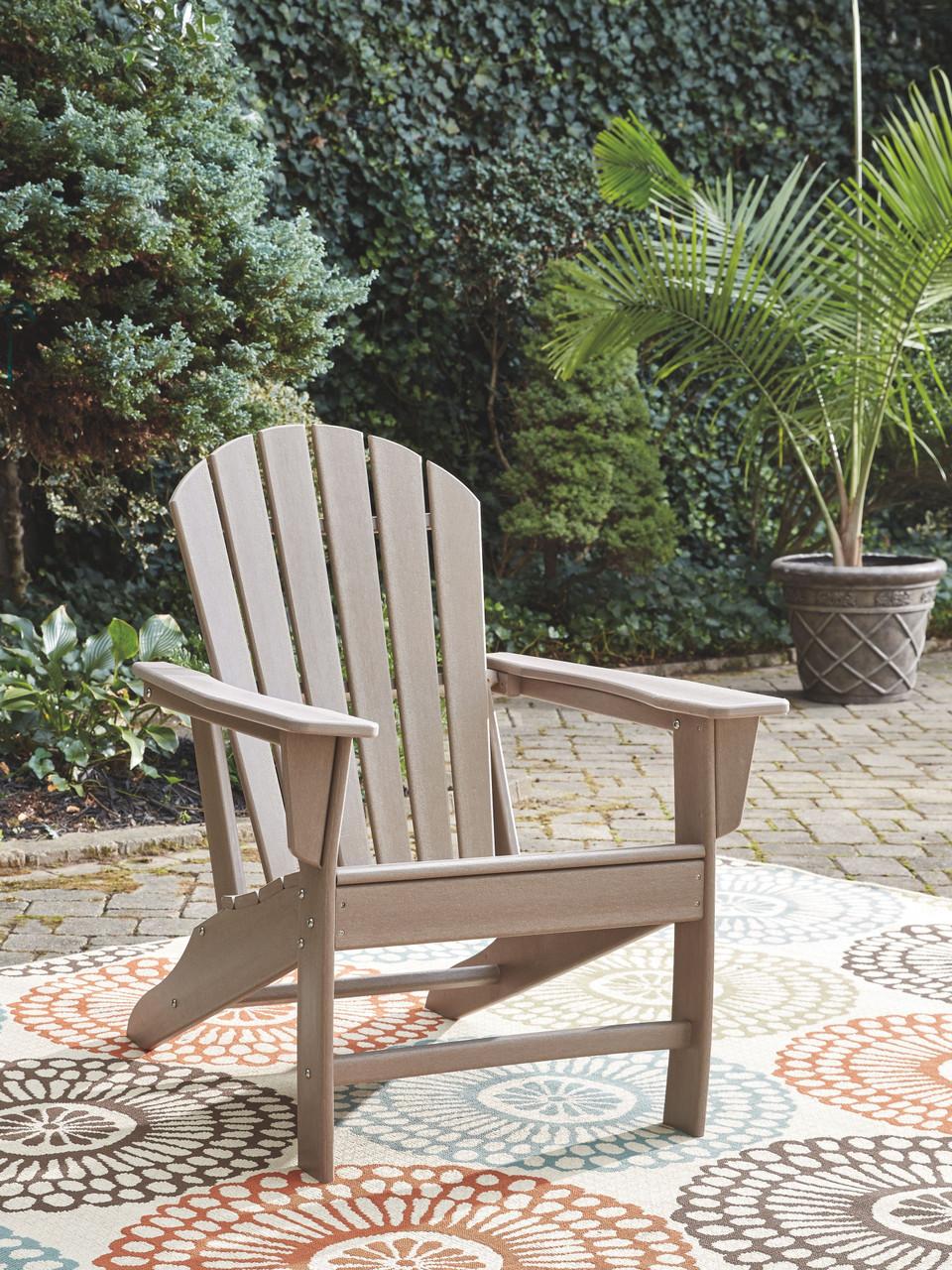 Pleasing Sundown Treasure Grayish Brown Adirondack Chair Gamerscity Chair Design For Home Gamerscityorg
