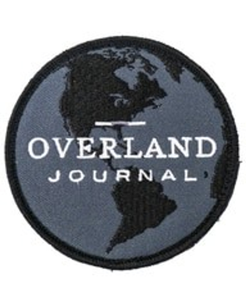 Overland Journal Globe Patch