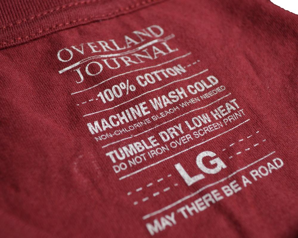 Classic Overlander Series - FJ40 T-shirt - Cardinal