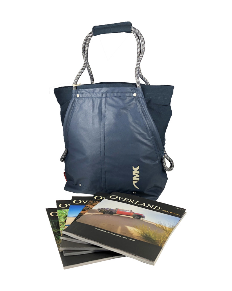 3-Year Subscription + Mountain Khakis Outdoorist Rope Tote (US & CAN)