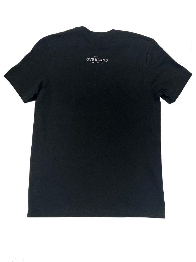 Classic Overlander Series - FJ40 T-shirt - Black