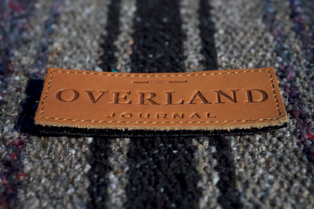 Overland Journal Genuine Leather Patch