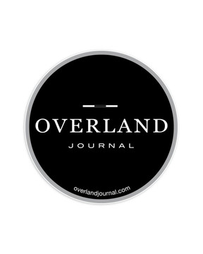 Overland Journal Circle Decal