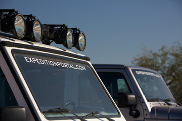 Expedition Portal Windshield Banner
