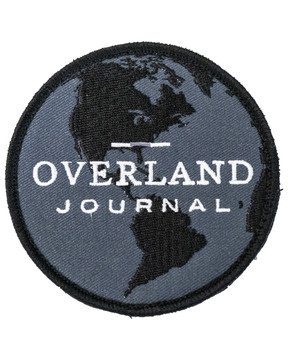 Overland Journal Globe Patch
